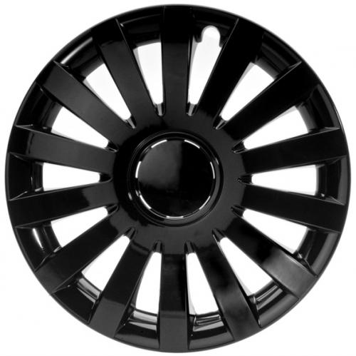 4er set radkappen radzierblenden wind s black schwarz 16 zoll. Black Bedroom Furniture Sets. Home Design Ideas