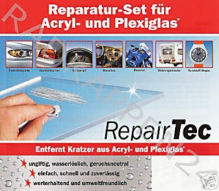 ACRYL - PLEXIGLAS - SCHEIBEN - DISPLAY REPARATUR SET