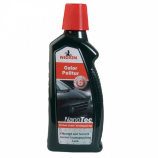 NIGRIN NanoTec Color Politur schwarz 500 ml