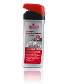 NIGRIN Performance Shampoo + Carnauba-Wachs Turbo 500 ml