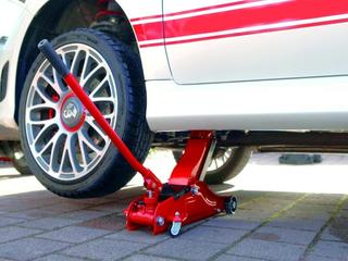 Wagenheber Rangierwagenheber für tiefergelegte Autos 2 Tonnen