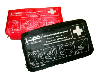 KFZ-Verbandtasche rot