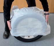 Set 4 Stück Reifensäcke Reifentüten Reifenhüllen XXL für PKW u SUV