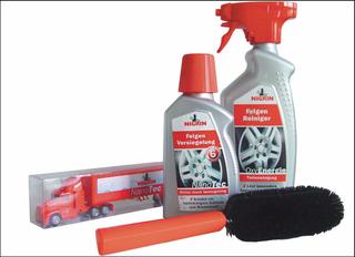 NIGRIN NanoTec Truck-Set Felgenpflege - 4 teiliges Pflegeset