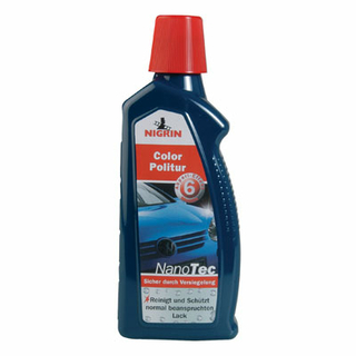 NIGRIN NanoTec Color Politur blau 500 ml