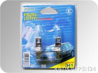 Halogen-Autolampe H1 Set 2 Stück