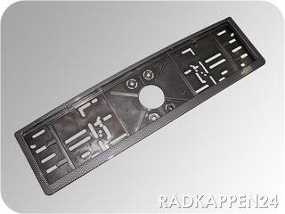 Kennzeichenhalter Carbon Design 1 Stück