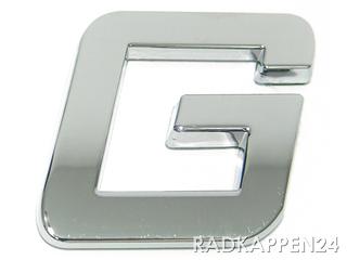 """3D Car-Logo, Großbuchstabe """"G"""""""