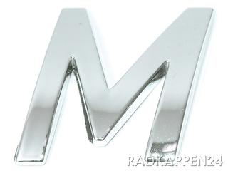 """3D Car-Logo, Großbuchstabe """"M"""""""