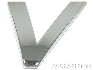 """3D Car-Logo, Großbuchstabe """"V"""""""