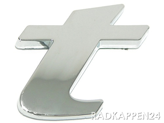 "3D Car-Logo, Kleinbuchstabe ""t"""
